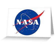 Nasa - Space travel Greeting Card