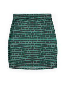 The Wall #2 Mini Skirt