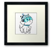 Doggy Framed Print