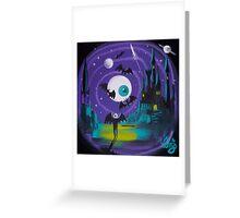 Drac In Spaaaaaace Greeting Card
