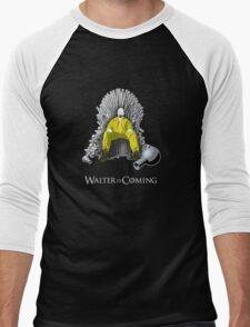Breaking Bad - Walter is Coming Men's Baseball ¾ T-Shirt
