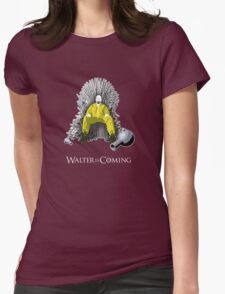 Breaking Bad - Walter is Coming Womens Fitted T-Shirt