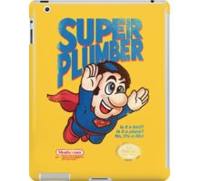 Super Plumber iPad Case/Skin