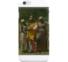 Dressing for the Carnival , Winslow Homer iPhone Case/Skin
