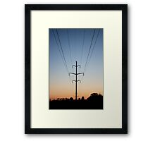 Trip Wire Framed Print