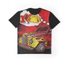 The Taco Wagon Driver's Dream Graphic T-Shirt
