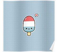 Kawaii popsicle Poster