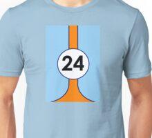 Gulf Motor racing stripes Unisex T-Shirt