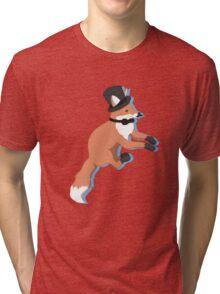 Fancy Fox Tri-blend T-Shirt