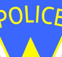 Jaws Amity Police patch Sticker