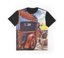 Beach Rod Aftermath Meets the Golden Dawn Graphic T-Shirt