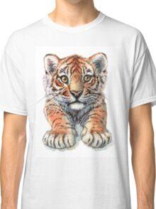 Playful Tiger Cub 907 Classic T-Shirt
