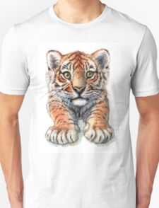 Playful Tiger Cub 907 Unisex T-Shirt