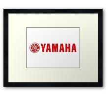 Yamaha Logo Framed Print
