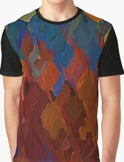 Burning Tulips Graphic T-Shirt