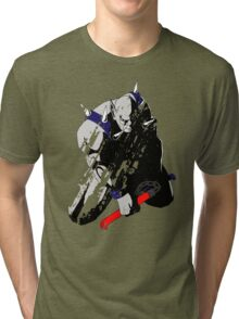 Panthro - distressed Tri-blend T-Shirt