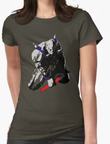 Panthro - distressed Womens Fitted T-Shirt