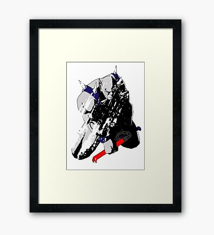 Panthro - distressed Framed Print