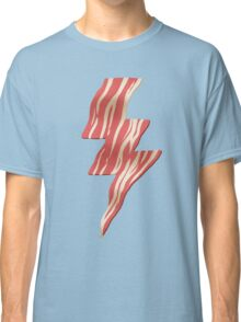 powered by bacon Classic T-Shirt