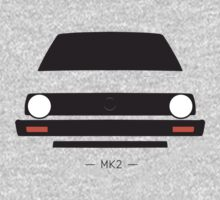MK2 simple front end design One Piece - Long Sleeve