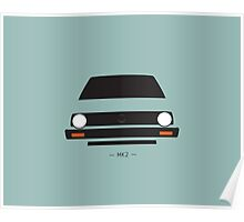 MK2 simple front end design Poster