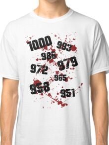1000 minus 7 Tokyo Ghoul Classic T-Shirt