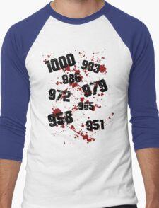 1000 minus 7 Tokyo Ghoul Men's Baseball ¾ T-Shirt