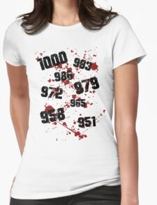 1000 minus 7 Tokyo Ghoul Womens Fitted T-Shirt