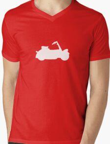 Vespa Paperino Mens V-Neck T-Shirt