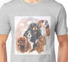 Cavalier King Charles Spaniel w/Ghost Unisex T-Shirt
