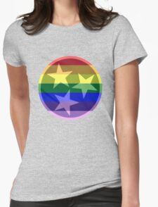 Tennessee Pride Flag Womens Fitted T-Shirt