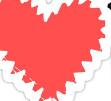 I Heart U Sticker