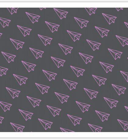 paper lanes - dark Sticker