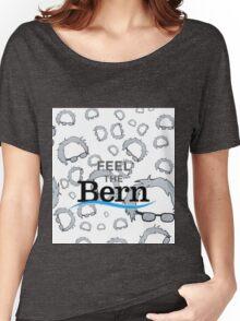 Bernie Sanders, Feel the bern Women's Relaxed Fit T-Shirt