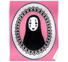No Face x Mandala Poster