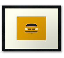 MK4 simple front end design Framed Print