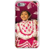 The Sombrero in Pink iPhone Case/Skin