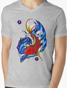 the Carp Mens V-Neck T-Shirt