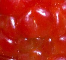 Red berry Sticker