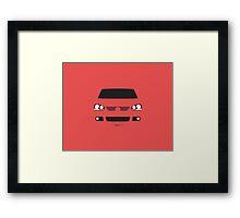 MK5 simple front end design Framed Print