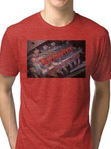 Retro urban auto engine. Tri-blend T-Shirt