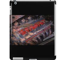 Retro urban auto engine. iPad Case/Skin