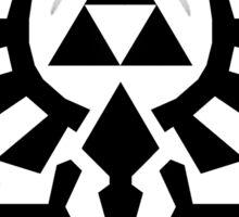 Zelda - The Wingcrest Black Sticker