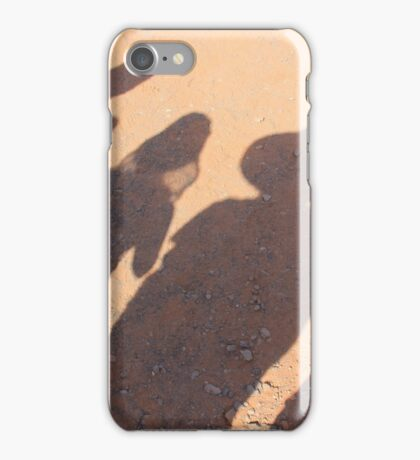 """Desert Shadows Following You"" iPhone Case/Skin"