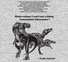 Conclusion: Dinosaurs [Black] by Karlika