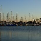 EVENING BOATS by andrewsaxton