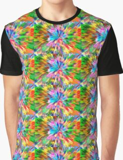 Colorful Abstract Merchandise Graphic T-Shirt
