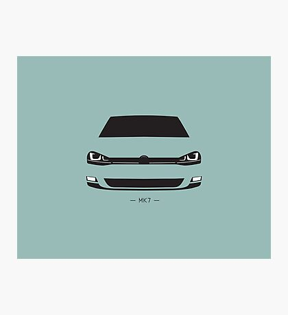 MK7 simple front end design Photographic Print