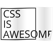 CSS Poster
