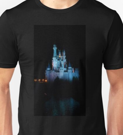 Magic Kingdom Castle and Water Unisex T-Shirt
